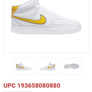 Nike Court Vision Lo Mens Basketball Shoes, 8 Medium, White for Sale in Columbia, SC