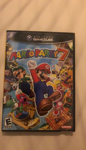 Mario Party 7 w/ Manuel - GameCube for Sale in Snohomish, WA