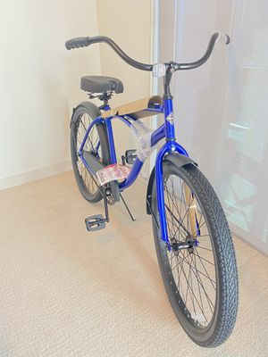 Bike 26 inch brand new shiny blue cruiser for Sale in Houston, TX