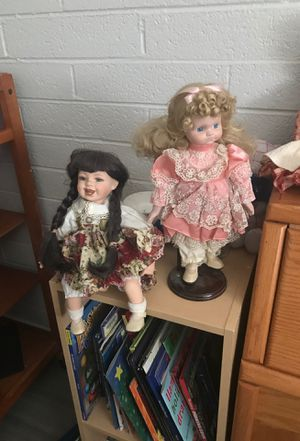 Antique porcelain dolls for Sale in Phoenix, AZ