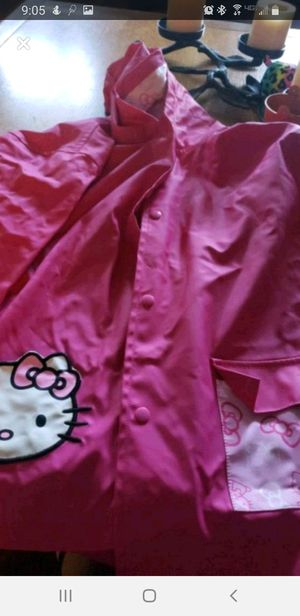 Girls size 6 hello kitty raincoat for Sale in Dundalk, MD
