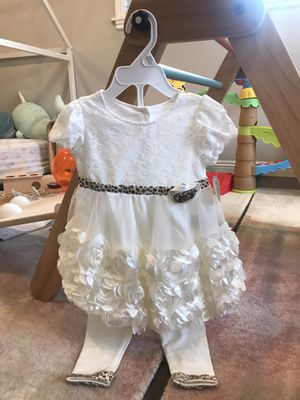 New Nannette Baby Toddler Girl Dress Lace Occasion Dress 2T 24 Months for Sale in Alhambra, CA