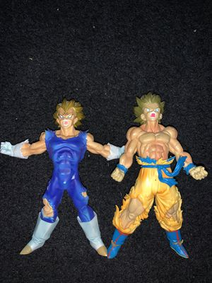 """Dragonball Z"" Goku & Vegeta Collectable Action Figures for Sale in Long Beach, CA"