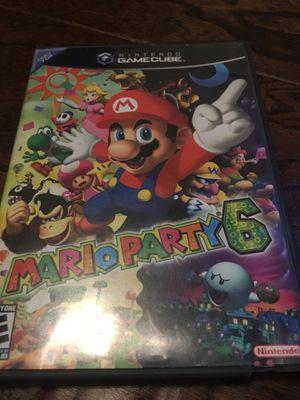 Mario Party 6 Nintendo GameCube for Sale in Canton, GA