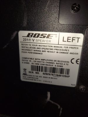Bose speakers for Sale in Stamford, CT