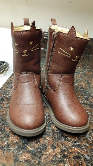 Carter's baby girl boots size 5 for Sale in Yakima, WA