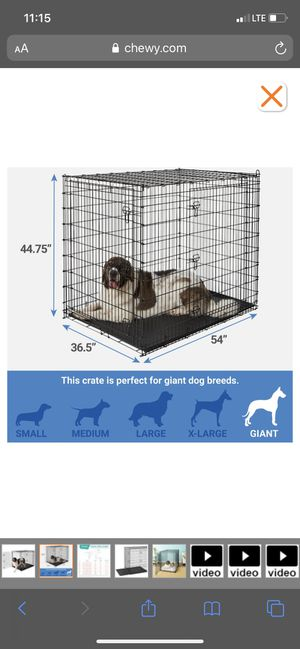 XXL Dog Kennel for Sale in Bakersfield, CA