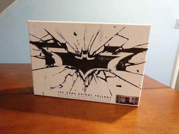 Dark Knight Trilogy special edition Blu Ray set