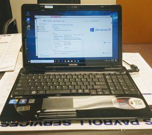 """Laptop Toshiba 15.3"""" - Core i3 2.25GHz - 6GB RAM - 128GB SSD HD - Webcam - WiFI . for Sale in Miami, FL"""