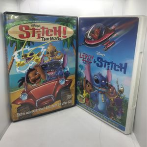 Disney Stitch DVDS for Sale in Corona, CA
