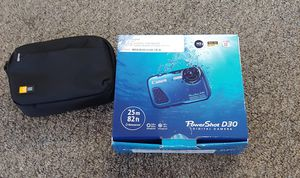 Canon PowerShot D30 Waterproof Digital Camera With Case for Sale in Burlington, NC