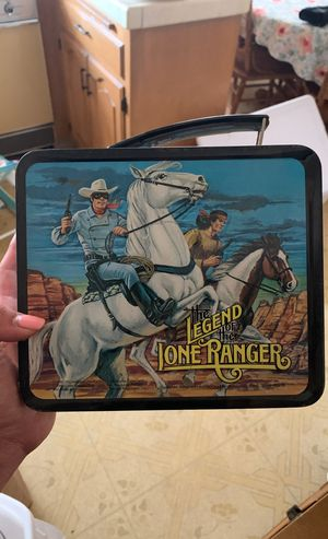 The legend of the lone ranger metal 1980s lunchbox for Sale in San Leandro, CA