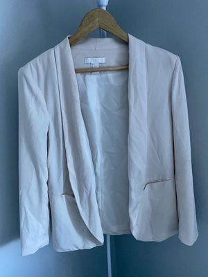 H&M Cream Blazer for Sale in Cherry Hill, NJ