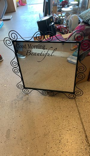 GOOD MORNING BEAUTIFUL Mirror for Sale in Sun City West, AZ