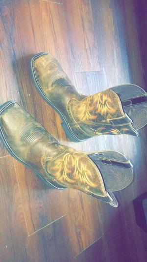 Justin steel toe work boots size 12 for Sale in Fayetteville, TN