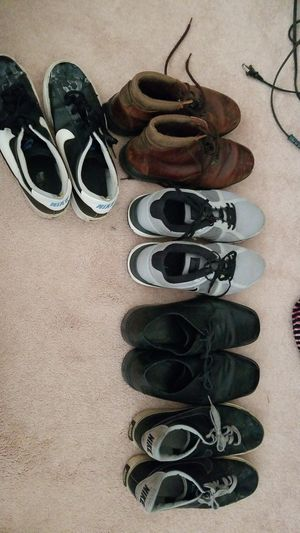 5 pairs of men's shoes for Sale in Sherwood, AR