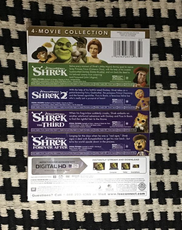 Shrek 4 Movie Collection