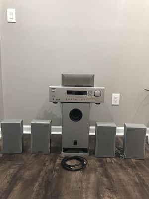Speakers 5.1 ONKYO and Receiver ONKYO for Sale in Carol Stream, IL
