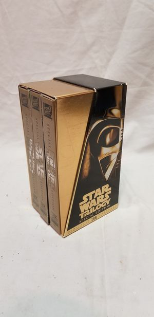 Star wars trilogy special edition on VHS for Sale in San Francisco, CA
