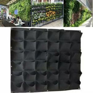 36 Pocket Wall Grow Pouch Hanging Planting Bag Vertical Flower Planter Garden C for Sale in Lynnwood, WA