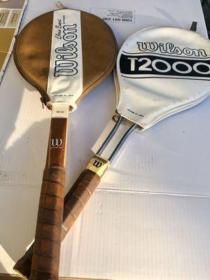 Wilson Chris Evert & T-2000 Tennis Rackets for Sale in Renton, WA