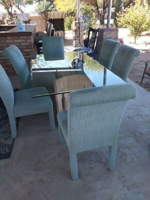 Dining table 6 chairs for Sale in Yuma, AZ