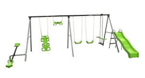 Flexible Flyer World of Fun Metal Swing Set for Sale in Chicago, IL
