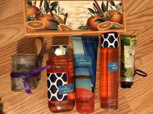 NEW/NEVER USED variety of bath soaps and lotions for Sale in Arlington, VA