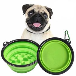Green Collapsible Dog Bowl for Sale in Westminster,  CA