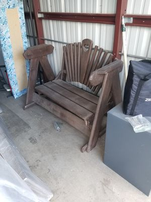 Porch swing great condition, dusty from being in storage for a year for Sale in Peoria, AZ
