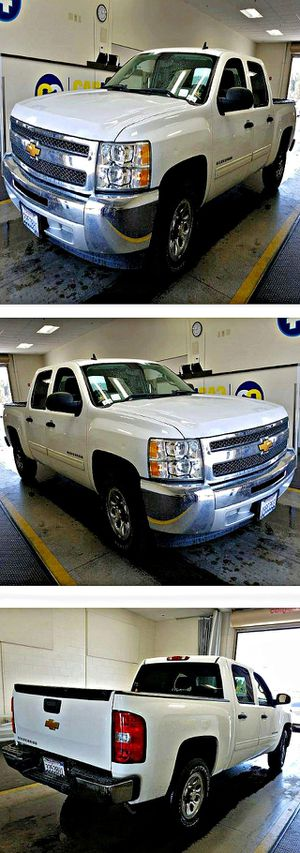 2012 Chevrolet Silverado 1500 LS Crew Cab Short Box 2WD 116k for Sale in South Gate, CA