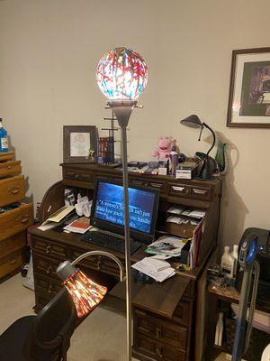 Funky fun lamp 6ft tall 25 obo for Sale in San Antonio, TX