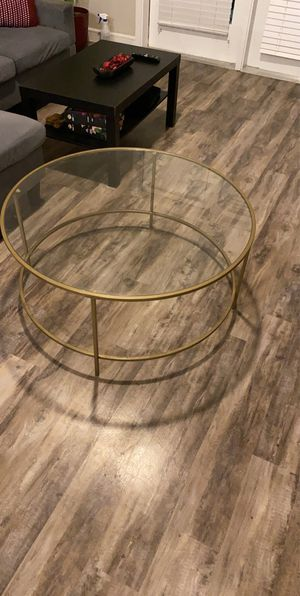 Glass coffee table for Sale in Garland, TX