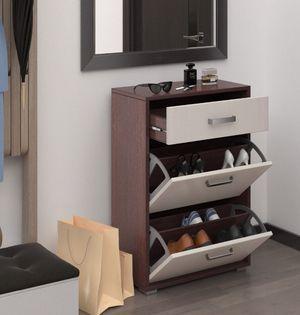 Hallway shoe cabinet rack closet luxury contemporary design for Sale in Fort Lauderdale, FL