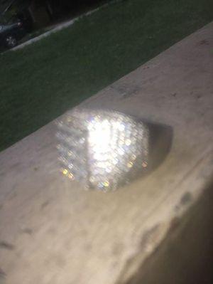 SILVER DIAMOND RING! for Sale in Atlanta, GA