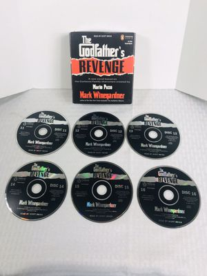 The Godfather's Revenge by Mark Winegardner Unabridged audio book for Sale in Pawtucket, RI