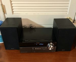 Sony CMT-MX500i Micro HI-FI Stereo System Speakers iPod Dock CD/ CD MP3 Player for Sale in Waldorf, MD