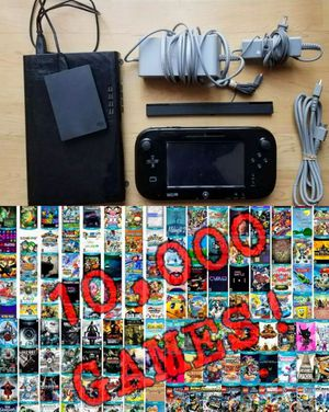 Nintendo Wii U Console Bundle With Over 10,000 Games INSTALLED! for Sale in New York, NY