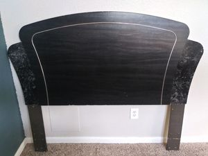 Full headboard with rails. $30 for Sale in Houston, TX