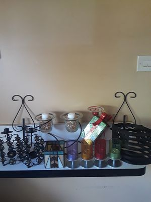 Candle Holders/Home Decor for Sale in Homewood, IL