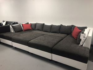 MOVIE NIGHTS sectional sofa couch TRANSFORMER for Sale in Hialeah, FL