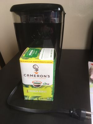 Keurig K15 coffee maker used NO TRAY comes with 10 organic k cups for Sale in Pasadena, CA