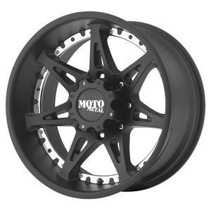 "Set of 4 - 20"" Black Wheels/Moto Metal 961 Chevy/GMC 1500 6 lug Truck for Sale in Mukilteo, WA"