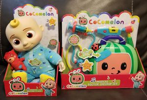 Brand New Set: Cocomelon JJ And Musical Doctor Checkup for Sale in Los Angeles, CA