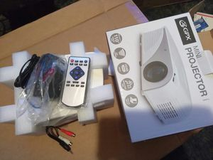 Movie projector, USB, HDMI, RCA, hooks up to anything for Sale in Cleveland, OH