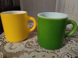 Lemon/Lime vintage MUG Pair for Sale in Chapel Hill, NC