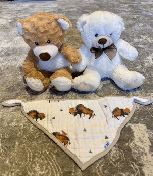 Bear + Bandana Bundle for Sale in Seattle, WA