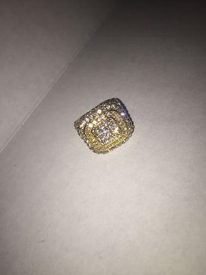 Men 18kt Diamond Gold Ring for Sale in Dublin, GA