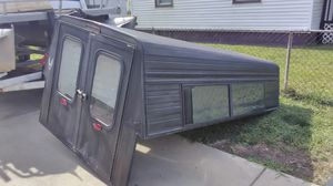 Universal aluminum camper shell for full-size pickups for Sale in Indianapolis, IN