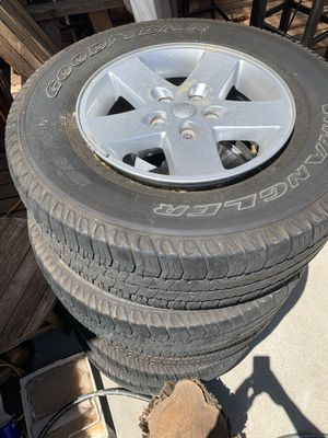 2017 -5 Jeep Wrangler Wheels for Sale in Salinas, CA